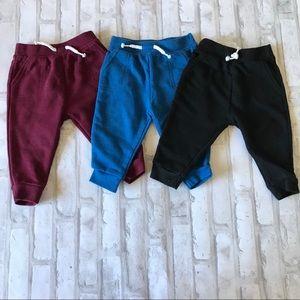 3 set of Garanimals sweat pants